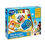 VTech Baby 148003 Play and Learn Activity Table - Multi-Coloured