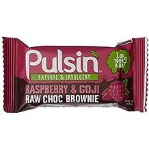 Pulsin' 50-g Berry-Burst - Packung enthält 18 Riegel, 1er Pack (1 x 50 g)