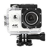 OverDose Wasserdichte 4K SJ60 Wifi HD 1080P Ultra Sports Action Kamera DVR Cam Camcorder (White)