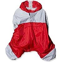 R-Flect 4517 Poncho Imperméable Mixte Enfant, Rouge, FR : Taille Unique (Taille Fabricant : Taille Unique)