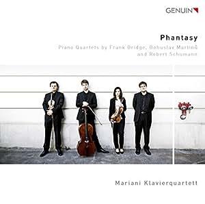 Phantasy: Klavierquartette von Bridge, Martinu, Schumann