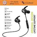 CrossBeats PULSE Wireless Bluetooth Headset In-Ear Sports earbuds Supports Apple, Android, Windows Mobile/Laptop/Tablets