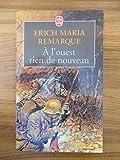 A l'ouest rien de nouveau / Erich Maria Remarque / Réf46532 - Le Livre de Poche
