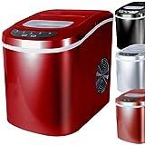 Jago - Machine à Glaçons 100 W 2 Tailles de Glaçons Réservoir 2,2 l (Couleur au Choix)