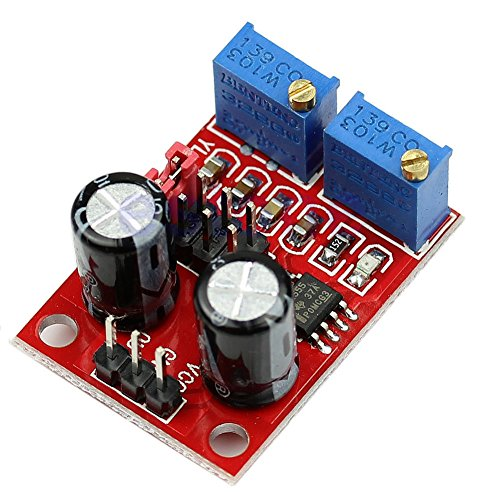 daorier Pulse Frequenz Duty Cycle verstellbar Modul Square Wave Signal Generator DC 5-15V NE555Stepper Motor Driver/Controller -