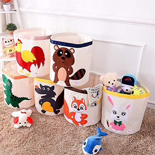 BU-SOH Toy Organizer Faltbare Jumbo Aufbewahrungsbox Faltbare Aufbewahrungstruhe Kinderzimmer Ordentliche Spielzeugkiste - Perfekt for die Aufbewahrung im Haushalt, Stoffe Toy Box Organizer