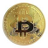 VCB Goldene/Silberne Bitcoin - Münze Bronze Physische Bitcoins - Münze Sammlerstück BTC - Münze - golden