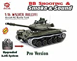 Heng Long U.S Army M41A3 Walker Bulldog Radio Control Tank (FULL METAL UPGRADE, include Tracks, Sprocket, Gear Box) -- BB shooting, Smoking, Sounding