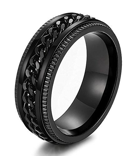 sailimue-acier-inoxydable-8mm-bague-biker-pour-homme-chaine-bague-cannelure-taille-62198-noir