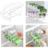 PinShang Soporte para latas de Cerveza, dispensador de refrescos, Organizador de Almacenamiento de refrigerador