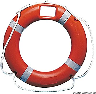 Anulare con vano 45 x 75 cm English: Ring lifebuoy w/housing45x75cm