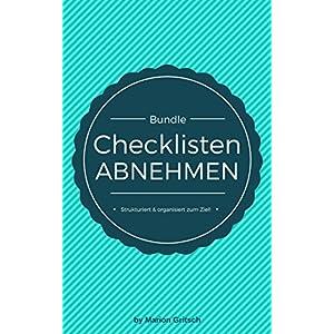 BUNDLE | Checklisten Abnehmen [Einkaufslisten, Speiseplan, Sport Tracker, Gewichtstabelle, Food Tracker, Ziele definieren & erreichen]