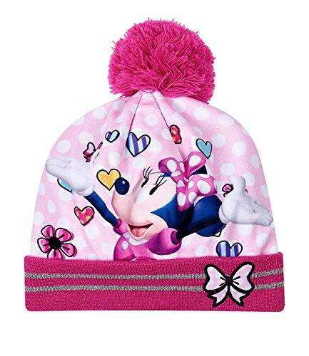 Disney minnie ragazze berretto di lana - rosa - 54