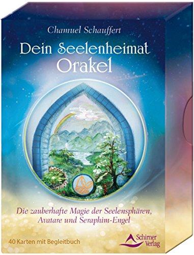 Dein Seelenheimat-Orakel: Die zauberhafte Magie der Seelensphären, Avatare und Seraphim-Engel - 40 Karten mit Begleitbuch