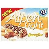 #7: Alpen Light Banoffee, 5 Bars