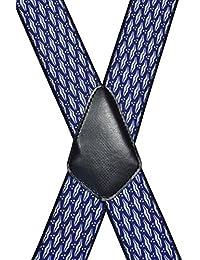 Tirantes 'X-Forma' Extra Fuerte (40mm) con Formal Diseños