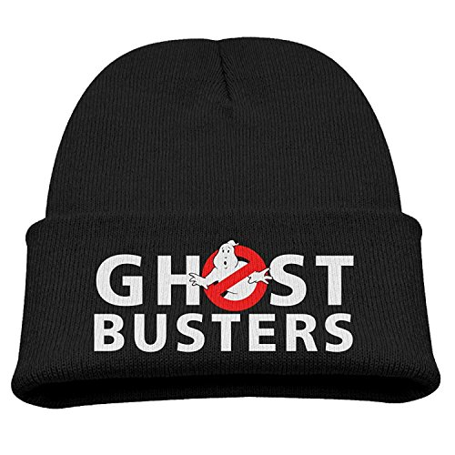 Ghostbusters Logo Children Knit Slouchy Hat Beanies Cap Black 113b4720bc7c