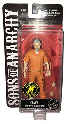 SONS OF ANARCHY Actionfigur CLAY in Prison Uniform / 2014 Con Exclusive (Sons Of Anarchy Breaking Bad)