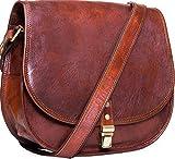 Urban Leather Borsa Tracolla Donna Portafoglio Donna Piccoli Vintage Borsetta Shopping Bag Borsa da Spiaggia Borse in Pelle Vera Ragazza Borsa a Spalla Donna Borsa di Cuoio Vintage Taglia 12 Pollici