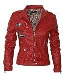 Softly Premium Damen Vegan Lederjacke 8 Farben 2516 Rock N Roll Style