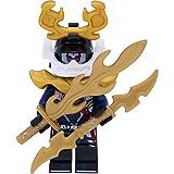 LEGO Ninjago Minifigur Samurai X (70651) mit 2 GALAXYARMS Schwertern
