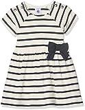 Petit Bateau Baby-Mädchen Kleider, Mehrfarbig (coquille/smoking 63), 80 (Herstellergröße:  12m/74cm)