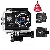 NEXGADGET HD 1080P Action kamera, 170° Ultra Weitwinkelobjektiv Action Cam, 1,5 Zoll Bildschirm,...