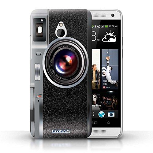Kobalt® Imprimé Etui / Coque pour HTC One/1 Mini / Sportif conception / Série Appareil Photo Millésime