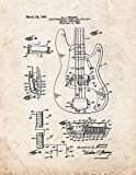 EBONI ELLIOTT Fender Electromagnetic Pickup for Lute-Type Musical Instrument Patent Print Old Look (13