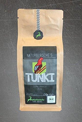 Naturbursche´s Bio Peru Tunki Kaffee 250g ganze Bohne