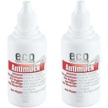 eco cosmetics Antimück 2er-Pack (2x 50ml) (bio, vegan, Naturkosmetik) Mückenschutz