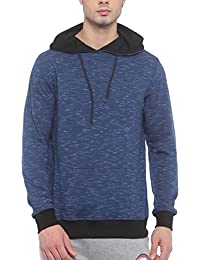 SayItLoud Printed Men Hooded Sweatshirt (XX-Large)