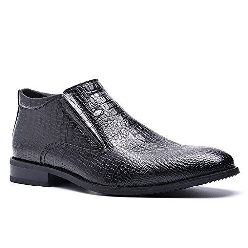Hommes Haute Casual Chaussures en Cuir Business Trekking Chaussures Automne Respirant Chaussures De Marche 39-44