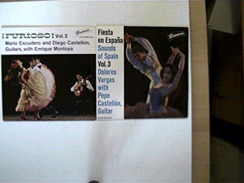 3 Platten: Furiosos Vol.2 (Single), Fiesta en Espana Sound of Spain Vol.3, Amour Castagnettes et Tango,