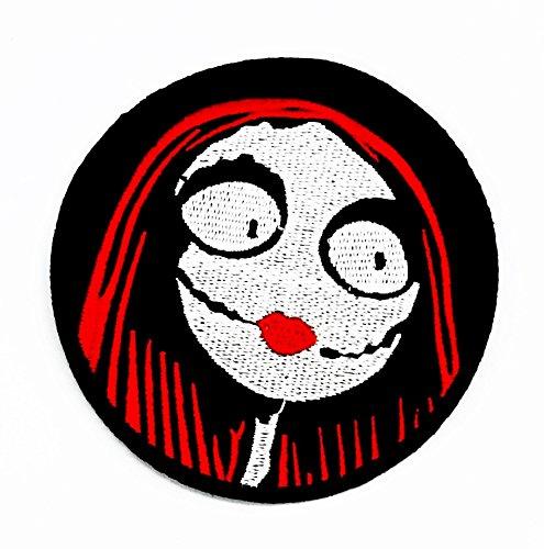rabana Teufel in Halloween Cartoon Kids Kinder Cute Animal Patch für Heimwerker-Applikation Eisen auf Patch T Shirt Patch Sew Iron on gesticktes Badge Schild (Kostüme Film Old School Halloween)
