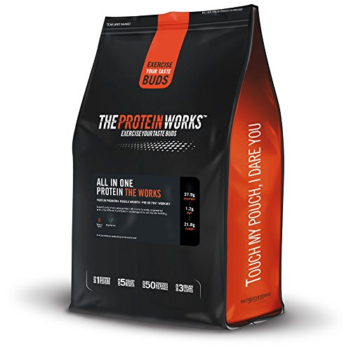51tcNvcUYIL - THE PROTEIN WORKS All In One Advanced Protein Powder Shake, Chocolate Silk, 1 kg