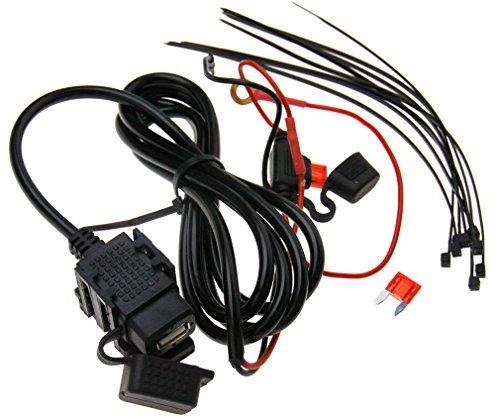 12V/24V Ladegerät Steckdose Wasserdichte USB 2.1A Motorrad Auto