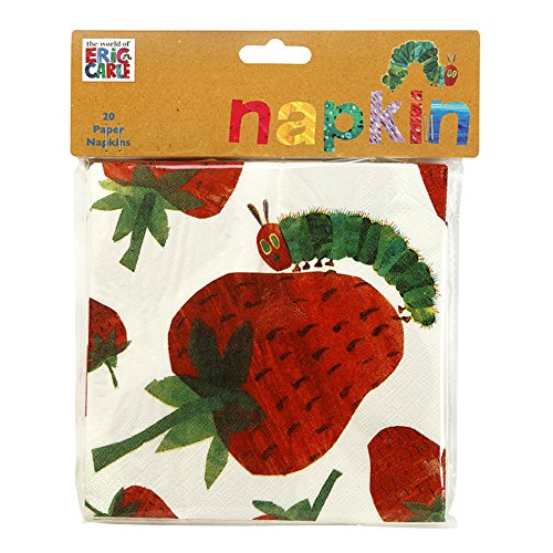 talking-tables-tvhc-napkin-very-hungry-caterpillar-papier-33cm-serviette-20pk-pappe-mehrfarben-2-x-1