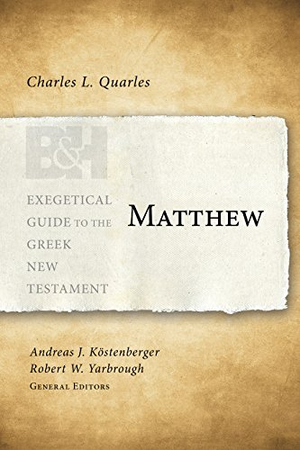 matthew-exegetical-guide-to-the-greek-new-testament