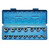 KRAFTPLUS® K.122-2616 Steckschlüssel-Einsätze 1/2