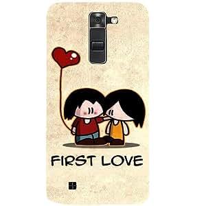 Casotec First Love Design 3D Hard Back Case Cover for LG K10