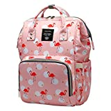 Bembika Diaper Bag Backpack for Mom Dad,Travel Rucksack Casual Daypack Maternity Nappy Bag