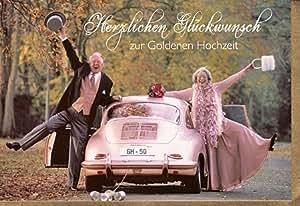 Witzige Glückwunschkarte zur Goldenen Hochzeit: Amazon.de ...