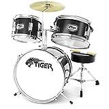 Tiger JDS7-BK - Set percussioni per principianti, colore: Nero - Tiger Music - amazon.it