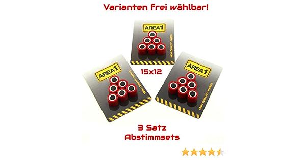 Variogewichte Variorollen 15x12 3er Abstimmset Variomatik Gewichte 4 0 4 5 5 0 Gramm Auto