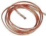 Aerzetix: 2M mètres 2x2.50mm2 Câble cordon pour Enceintes Haut-parleurs