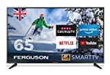FERGUSON 65 INCH SMART 4K LED TV WITH FREEVIEW HD, WIFI, 3 x