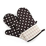 Premium Ofenhandschuhe Isolation Pads BBQ Handschuhe Extrem Hitzebeständige Anti-Rutsch Textur Design für Kochen Backen Barbecue Extreme Sicherheit 1 Paar