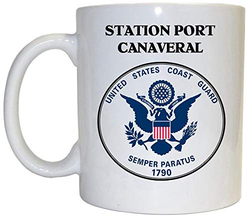 Station Port Canaveral - US Coast Guard Mug, 1023 (Port Canaveral)