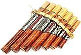 Flauta Craft bambù flauto strumento musicale Musica in legno bambù Pan Pan